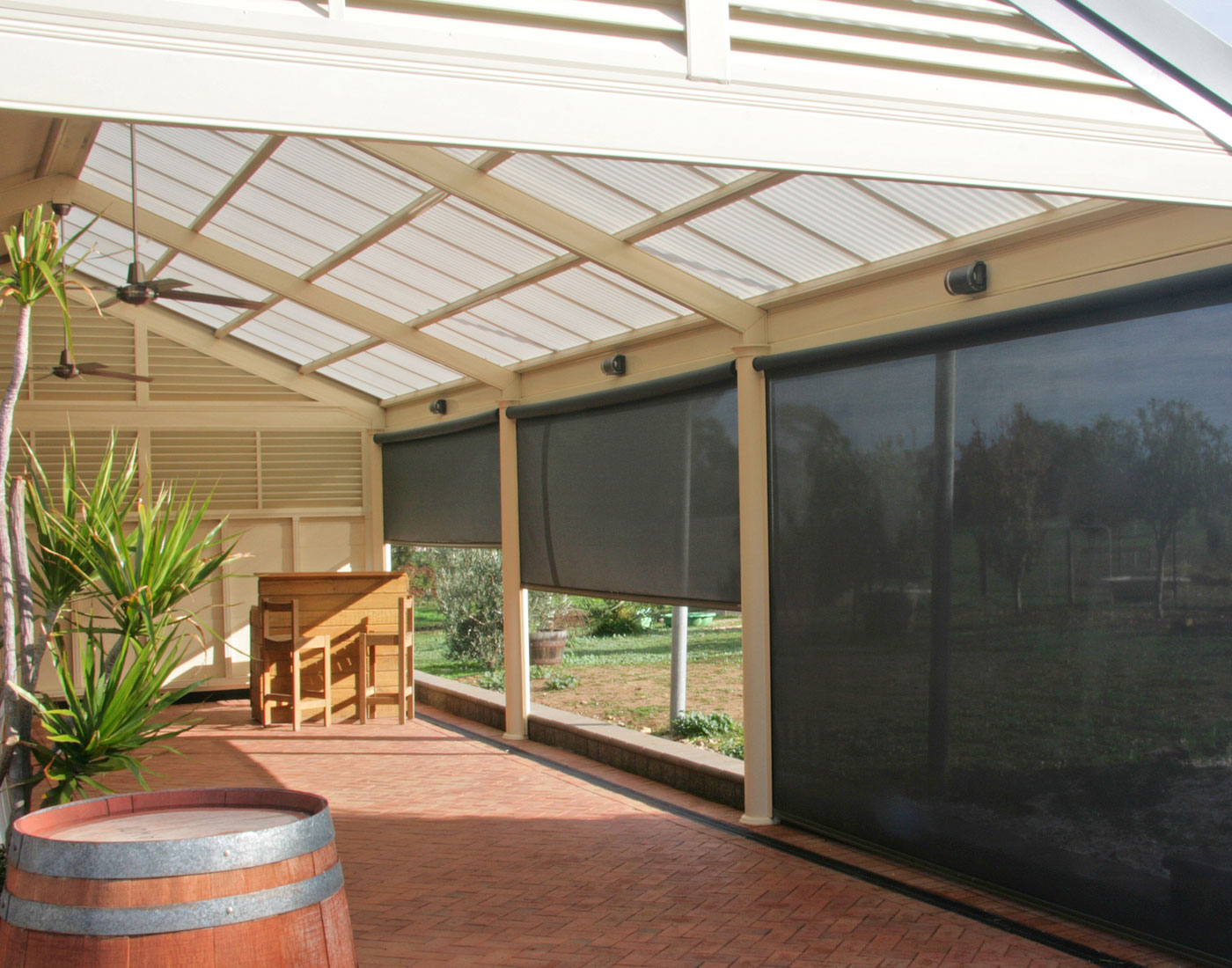 Slidetrack Awnings Sunshine Coast